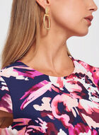 Vince Camuto - Floral Print Scuba Sheath Dress, Multi, hi-res
