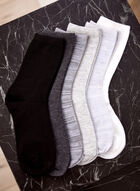Christian Siriano - 6 Pack Of Crew Socks, Black