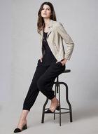 Jersey Harem Pants, Black, hi-res