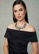 Ignite Evenings - Off The Shoulder Dress, Black, hi-res