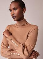 Turtleneck Sweater Dress, Off White