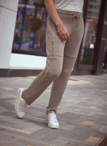 Drawstring Waist Jogger Pants, Green,  fall winter 2021, pants, jogger, jogging, sweatpants, sweats, knit pants, drawstring, pockets, pull-on, elastic waist