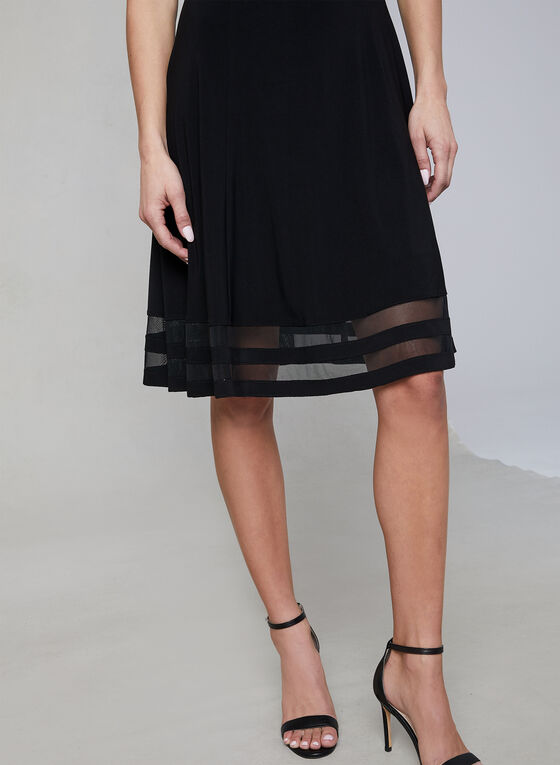 Frank Lyman - Fit & Flare Dress, Black, hi-res