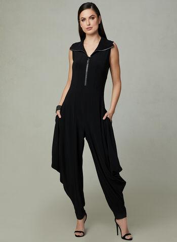 Frank Lyman - Harem Pant Jumpsuit, Black, hi-res