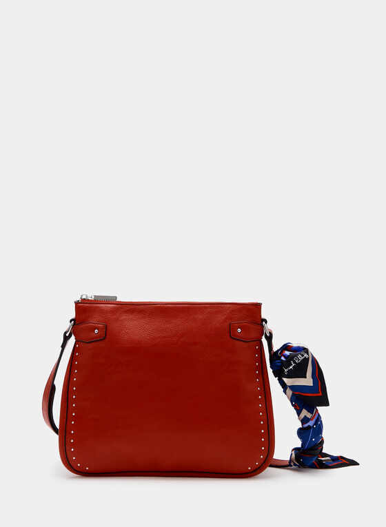 Joseph Ribkoff - Studded Crossbody Bag, Red, hi-res