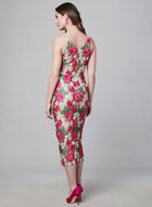 BA Nites - Floral Crochet Lace Dress, Pink, hi-res