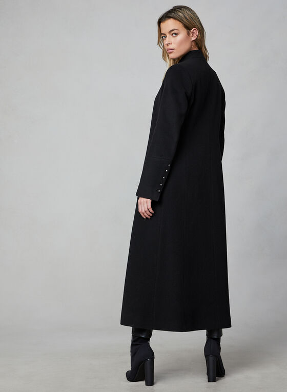 Mallia - Wool & Cashmere Coat, Black