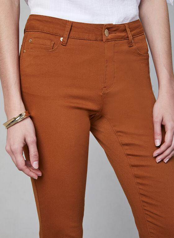 Jean à jambe étroite , Orange