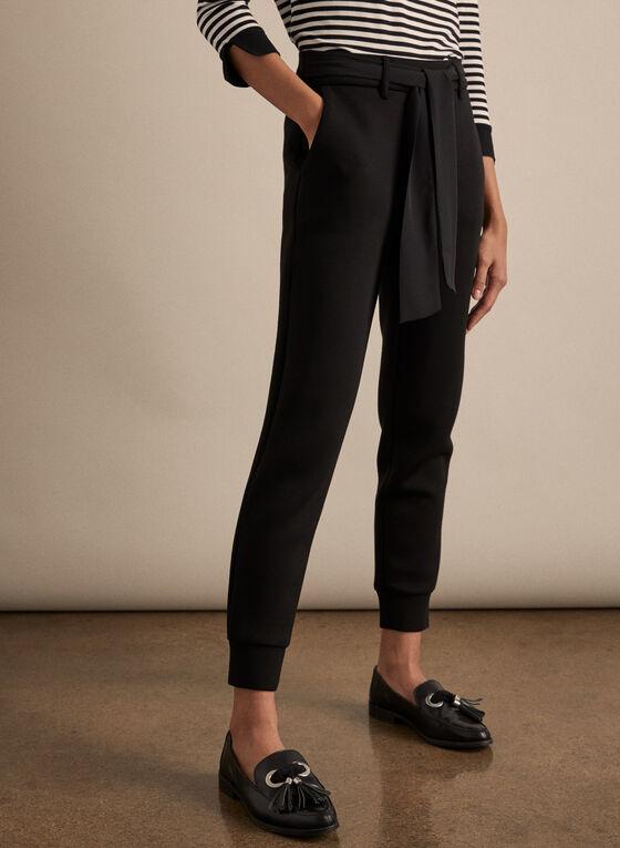 Jersey Jogger Pants, Black