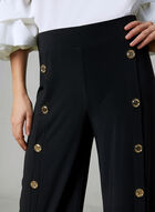 Joseph Ribkoff - Wide Leg Pants, Black, hi-res