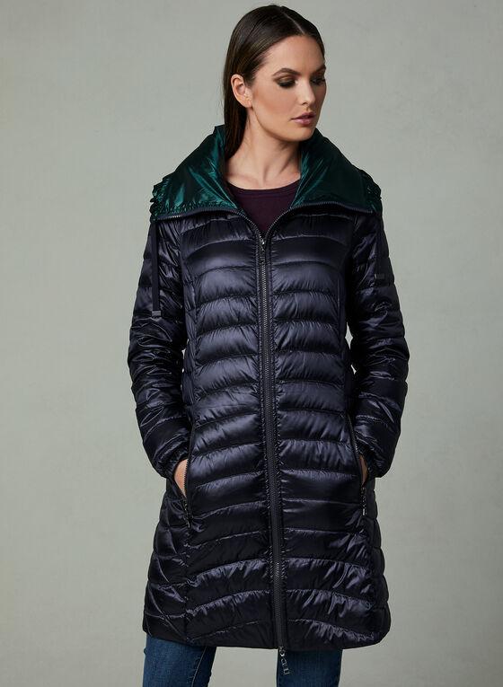 Nuage - Manteau matelassé en duvet compressible, Bleu
