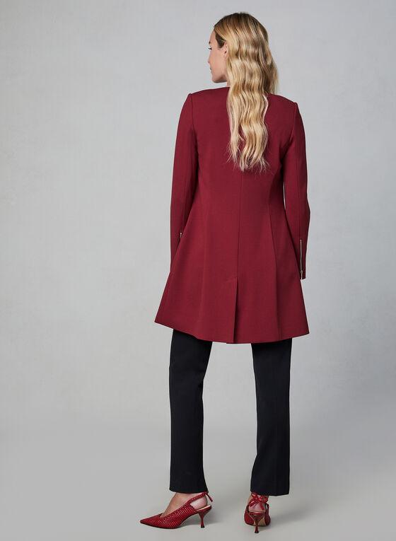 Veste ouverte style redingote, Rouge, hi-res