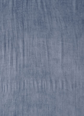 Denim Effect Scarf, Blue, hi-res