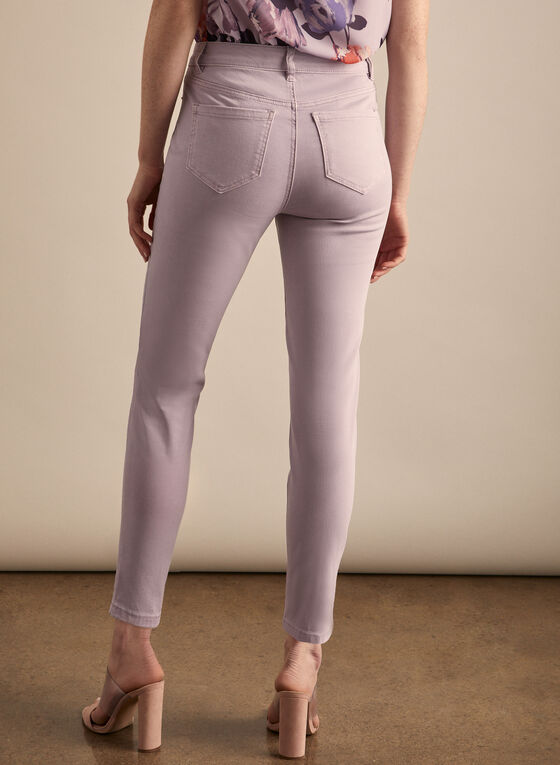 Coloured Slim Leg Jeans, Purple