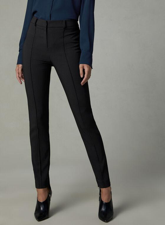 Pantalon Daphne à jambe étroite, Noir, hi-res
