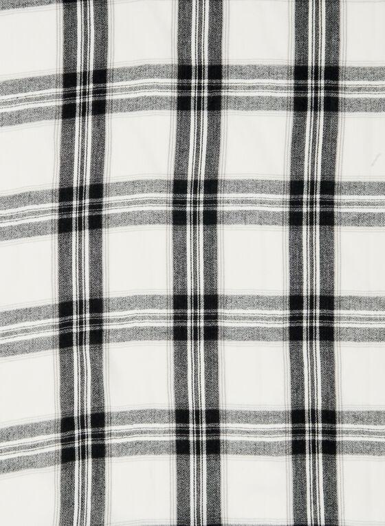 Ralph Lauren - Foulard à carreaux, Noir