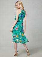 Kensie - Floral Print Popover Dress, Blue, hi-res