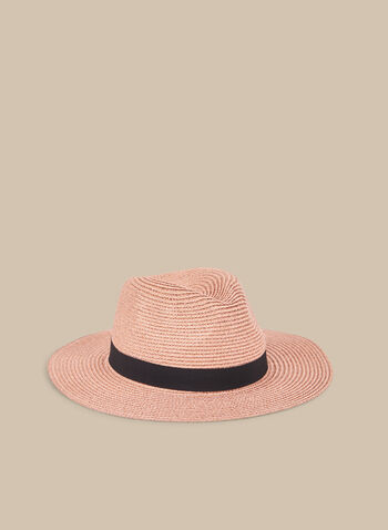 Panama Hat , Pink,  hat, panama hat, straw hat, coloured hat, spring 2020, summer 2020