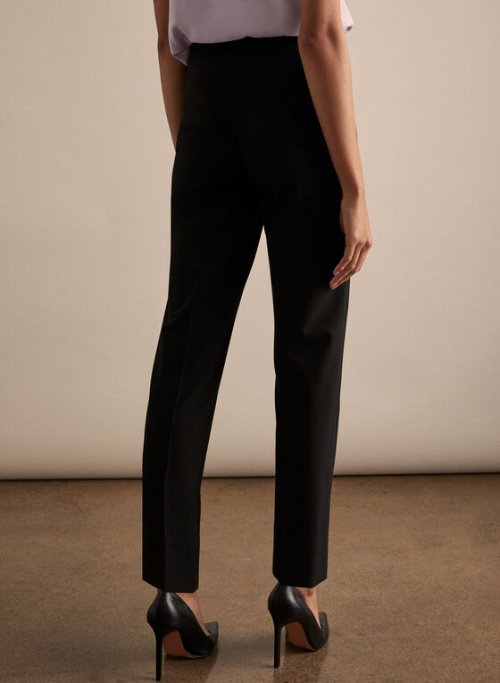 Amber High Rise Pants, Black