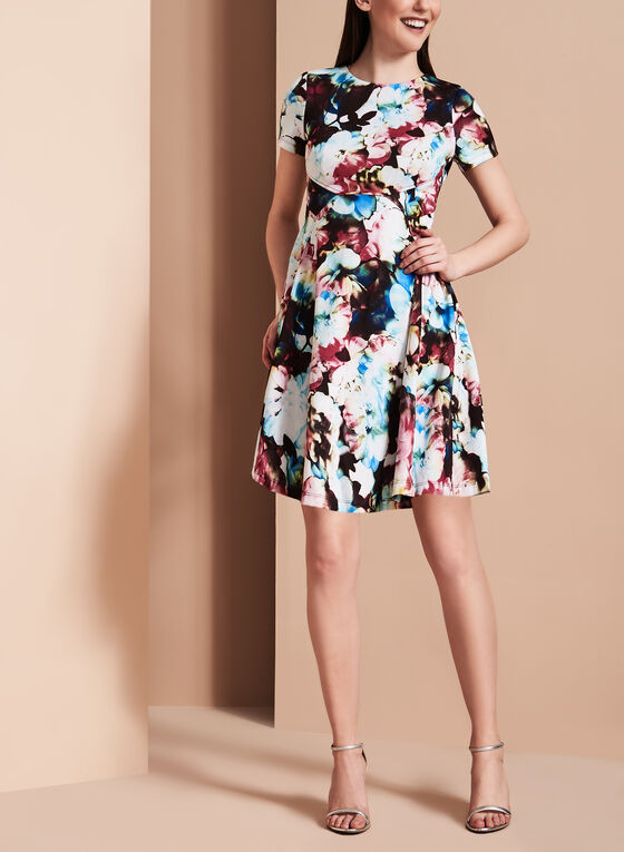 Maggy London - Fit & Flare Dress, Multi, hi-res