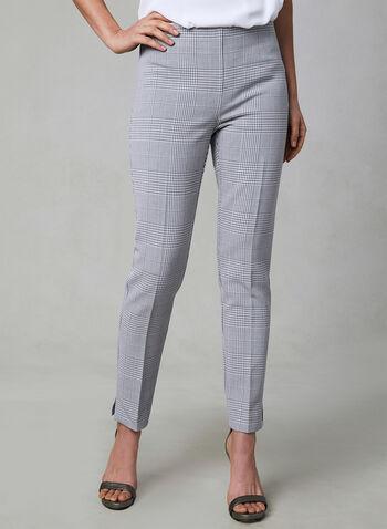 Amber Slim Leg Pants, Silver, hi-res