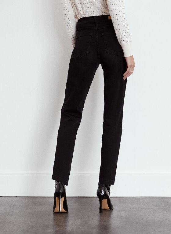 Yoga Jeans - High Rise Slim Leg Denim, Black