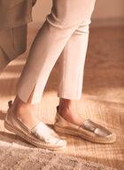 Pull-On Slim Leg Pants, Off White