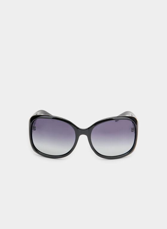 Oversized Sunglasses, Black