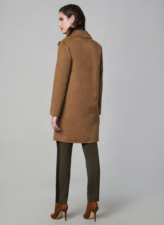 Bernardo - Manteau effet laine, Brun