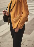Vex - Faux Suede Jacket, Gold