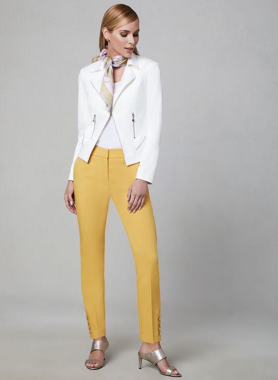Alison Sheri - Haut sans manches basique, Blanc