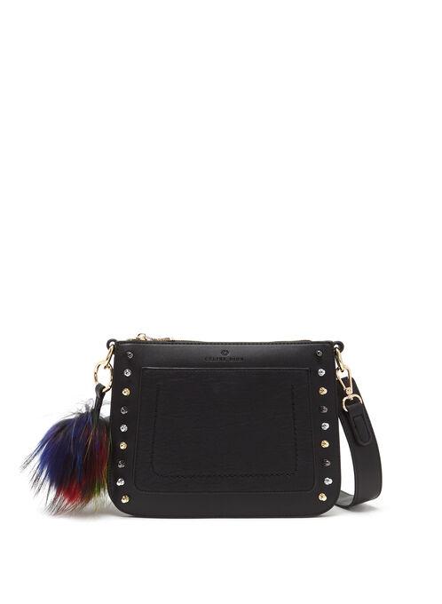 CÉLINE DION - Pizzicato Crossbody Bag , Black, hi-res
