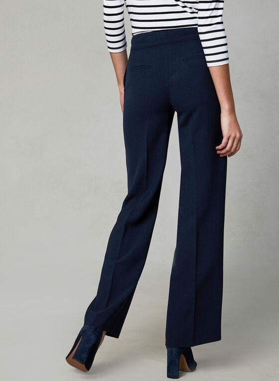 Pantalon Soho à jambe large, Bleu
