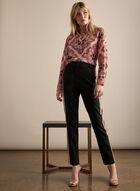 Giselle Side Ribbon Pants , Black