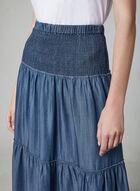 Linea Domani - Pull-On Skirt, Blue, hi-res