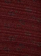 Écharpe plissée à motif floral, Brun