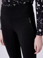 Pantalon pull-on Madison à jambe étroite, Noir, hi-res
