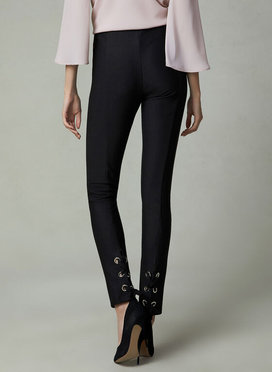 Frank Lyman - Slim Leg Pants, Black, hi-res