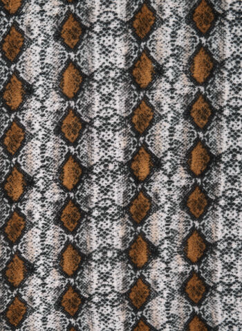 Snakeskin Print, Brown,  fall winter 2019, snakeskin