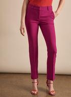 Giselle Slit Hem Pants, Pink