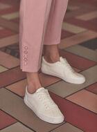 Pantalon Amber à jambe étroite, Rose