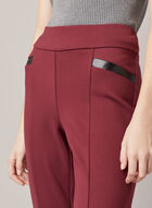 Madison Slim Leg Pants, Purple