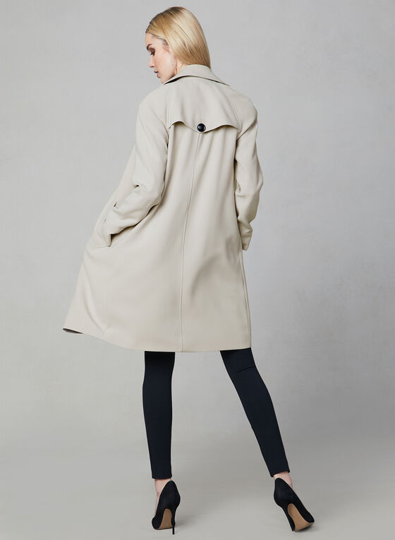 Nuage - Notch Collar Trench, Off White