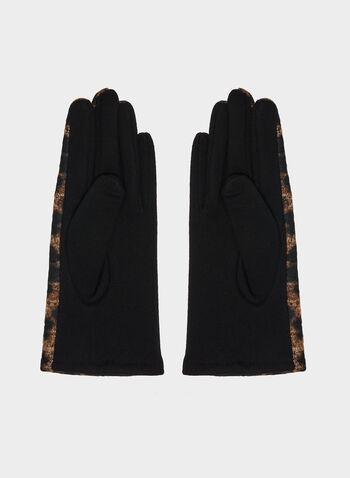 Gants motif léopard, Brun, hi-res,  gants, léopard, automne hiver 2019