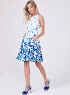 Maggy London - Fit & Flare Dress, Blue, hi-res