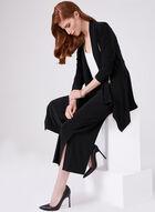 Metal Detail Jersey Culottes, Black, hi-res