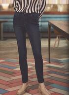 Jeans superdoux à jambe étroite, Bleu