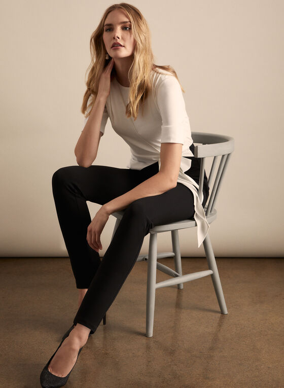 Adrianna Papell - Colour Block Jumpsuit, Black