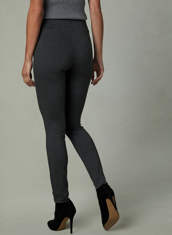Legging Kayla en point de Rome, Gris, hi-res
