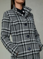 Manteau court en tweed , Noir, hi-res